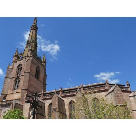 Соборная церковь в Бельмон-сюр-Ранс  (Église collégiale de Belmont-sur-Rance)