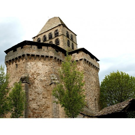 Церковь Нотр-Дам де Буссак (Église Notre-Dame de Boussac)
