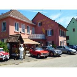 Отель Hôtel Restaurant au Cerf