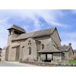 Церковь Святого Петра в Кане-де-Салар  (Eglise Saint-Pierre de Canet-de-Salars)