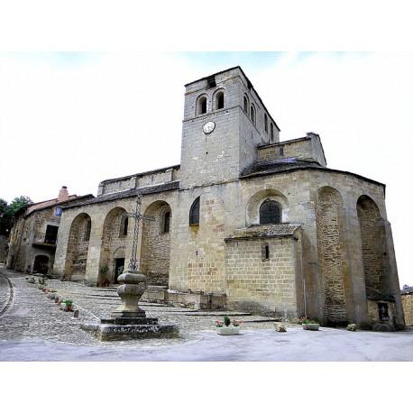 Церковь  Сен-Мишель в Кастельно-Пегероль (Église Saint-Michel de Castelnau-Pégayrols)