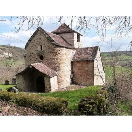 Церковь  Сен-Клер в Кос-э-Дьеж (Église Saint-Clair de Causse-et-Diège)