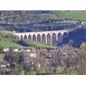 Виадук в Агессаке (Viaduc ferroviaire d'Aguessac)