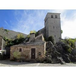 Церковь Святого Христа в Ла-Кувертуарад   (Église Saint-Christol de La Couvertoirade)