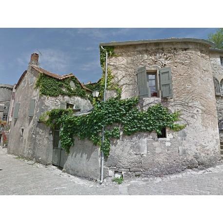 Дом XVI века в Ла-Кувертуарад (Maison de La Couvertoirade)