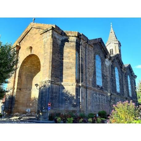 Церковь Нотр-Дам в Деказвиле   (Eglise Notre Dame de Decazeville)