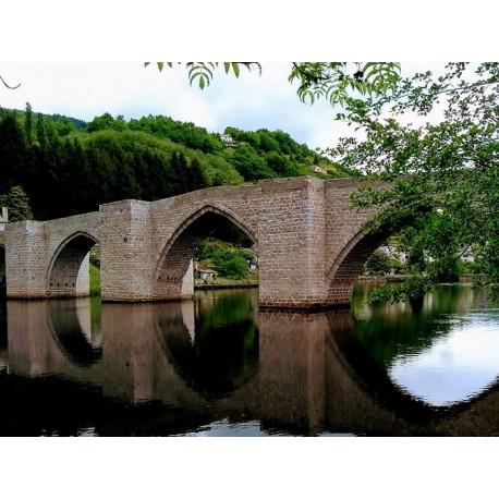 Старинный мост через Трюйер  (Pont sur la Truyère)