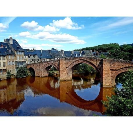 Старинный мост в Эспальоне  (Pont Vieux d'Espalion)