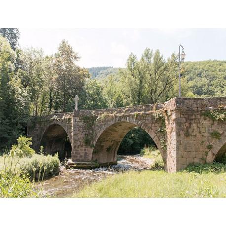 Старинный мост в Сен-Морис-де-Сорг  (Vieux pont de Saint-Maurice-de-Sorgues)