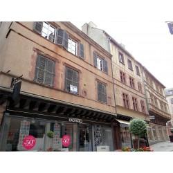 Дома по ул. Арманьяк в Родезе  (Maisons la rue. Armagnac à Rodez)