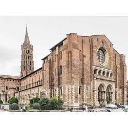 Базилика Сен-Сернен в Тулузе (Basilique Saint-Sernin de Toulouse)