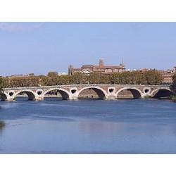 Мост Пон-Нёф в Тулузе  (Le Pont Neuf de Toulouse)