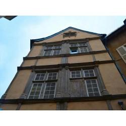 Дом на площади Шарль-де-Голль в Родезе  (Maison la place Charles-de-Gaulle  à Rodez)