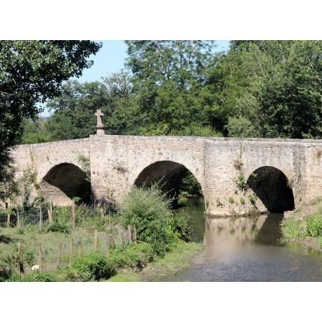 Старинный мост на Авейроне  (Pont sur l'Aveyron)