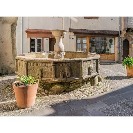Фонтан в Нажаке (Fontaine de Najac)