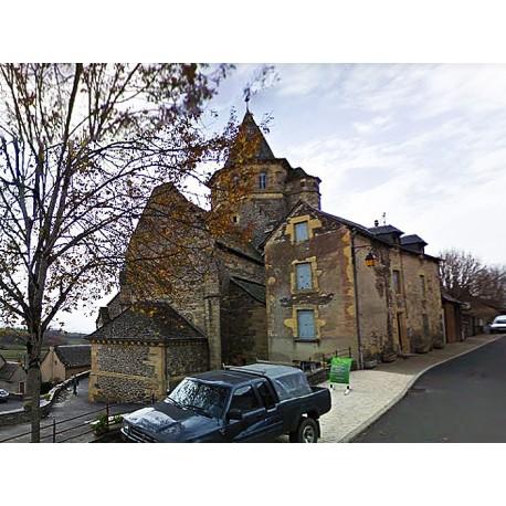 Церковь Сен-Лоран в Прад-д'Обрак  (Église Saint-Laurent de Prades-d'Aubrac)