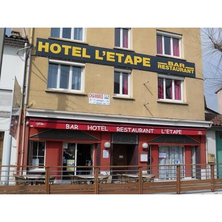 Отель Hotel Restaurant L'Etape