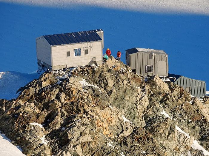 Горная хижина Валло (Vallot Hut)