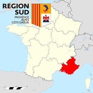Прованс-Альпы-Лазурный берег  (Provence-Alpes-Côte d'Azur) - регион Франции